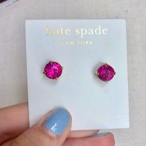 Kate Spade Pink Stud Earrings NWT